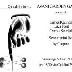QUADRIVIUM: Ozmo, Luca Font, James Kalinda, Scarful