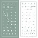 Augustine Kofie + Moneyless: Assioma